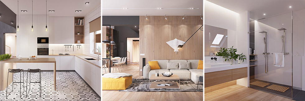 far-mobili-arredamenti-borgosesia-vercelli-arredo-scandinavo-linee-geometriche-pulite-bianco-camera-cucina-salotto-living