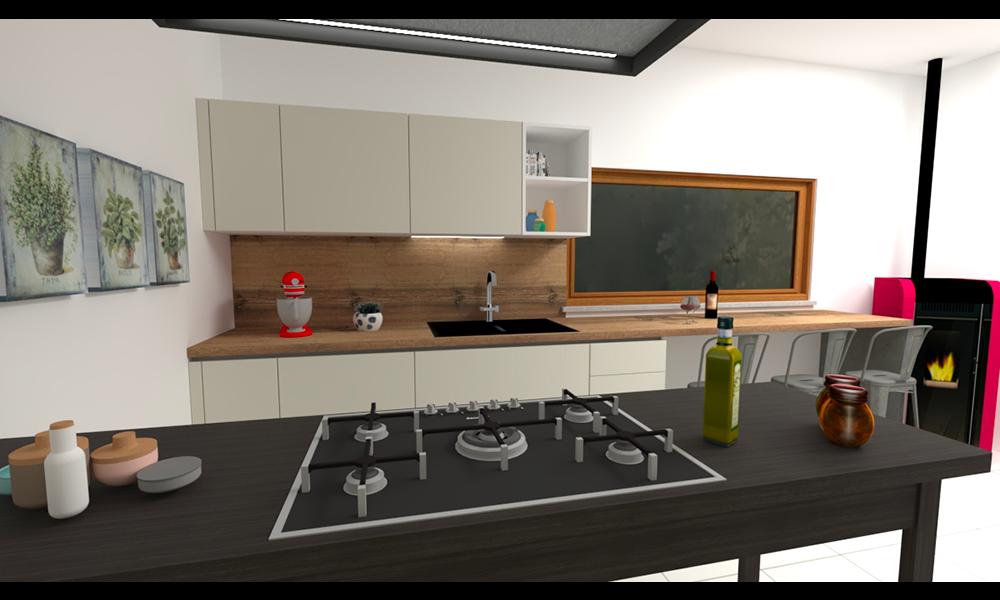 cucina con tavolo_1