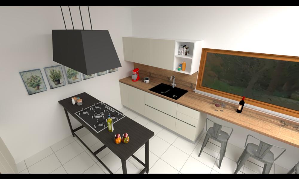 cucina con tavolo_2