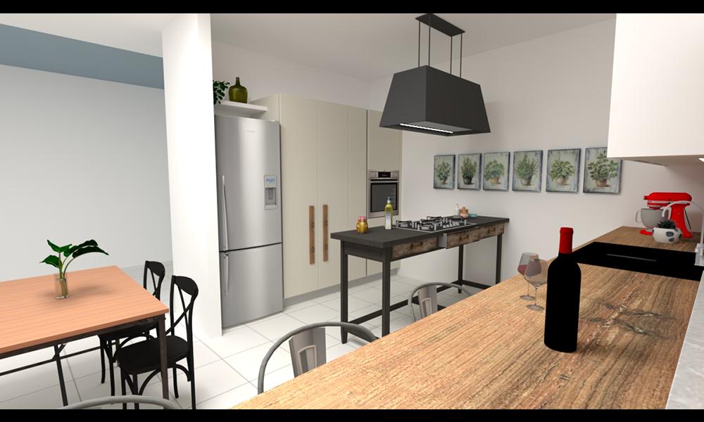 cucina con tavolo_3
