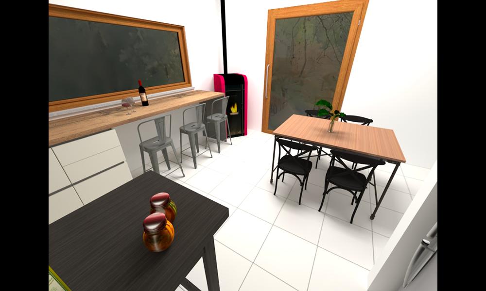 cucina con tavolo_5